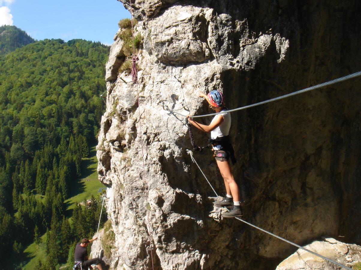 Klettersteig Reit Im Winkl : Klettersteige