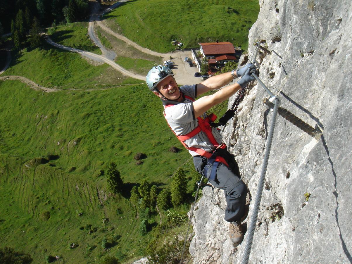 Klettersteig Walchsee : Klettersteig